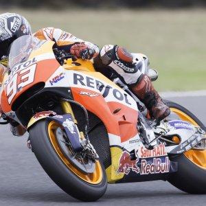 MotoGp, test Phillip Island: Marquez chiude in testa, Rossi è quinto