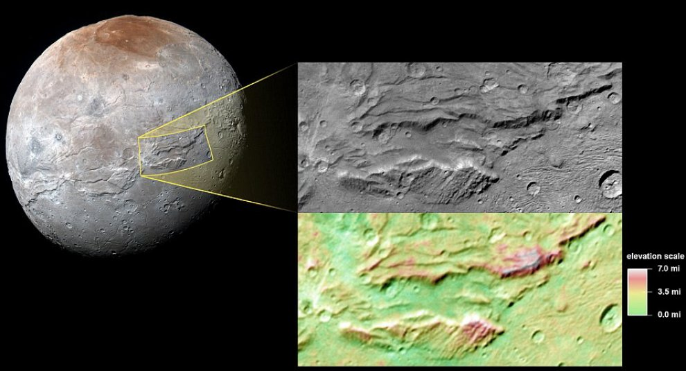 Caronte come l'incredibile Hulk: la luna di Plutone ha cambiato pelle