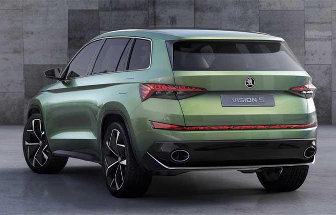 Škoda VisionS, voglia di ibrido