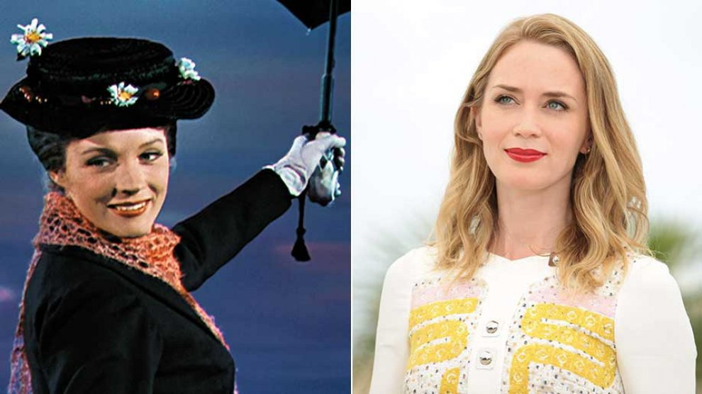 Disney vuole Emily Blunt come Mary Poppins