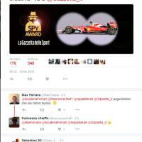 Il tweet della Ferrari: