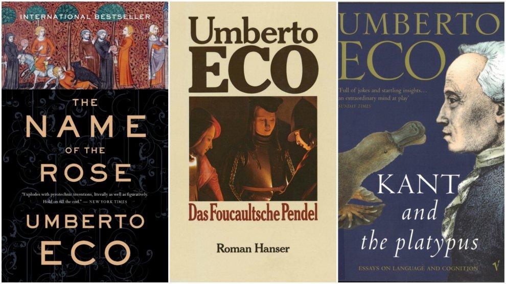 Umberto Eco, le copertine dei suoi libri tradotti in tutto il mondo