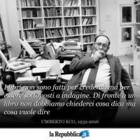 Umberto Eco in dieci citazioni
