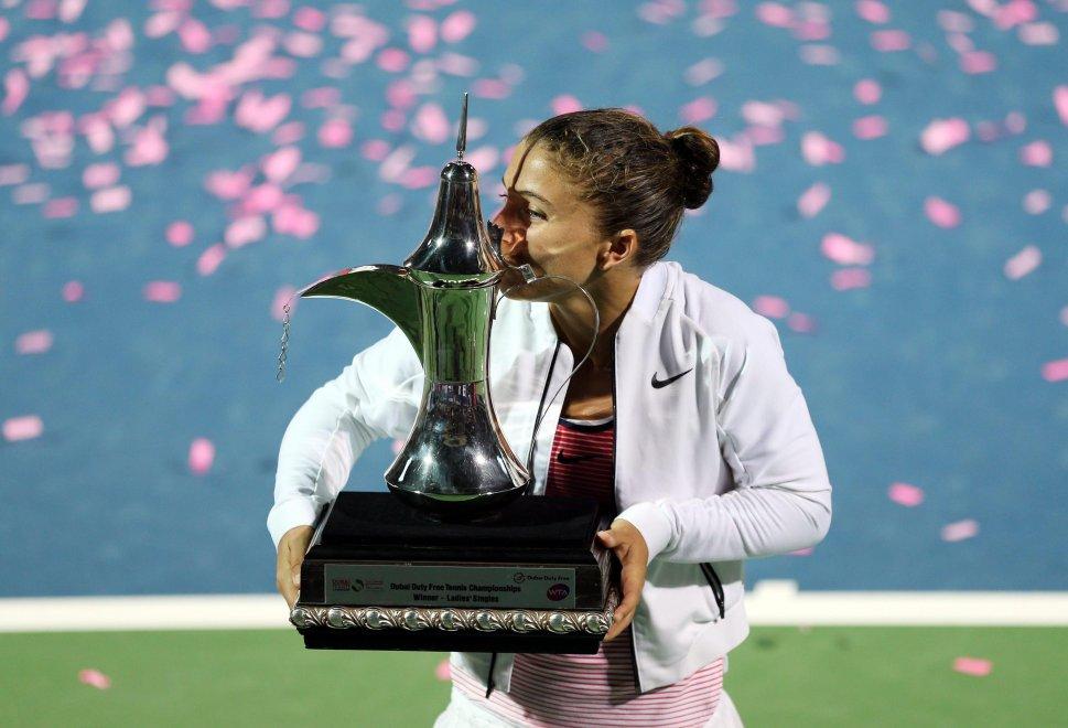 Tennis: Errani trionfa a Dubai, nono titolo in carriera