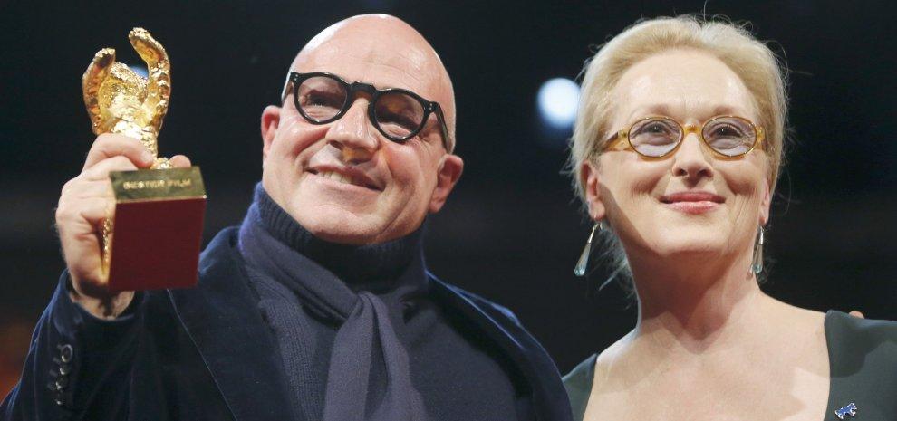 Gianfranco Rosi e Meryl Streep al Festival di Berlino