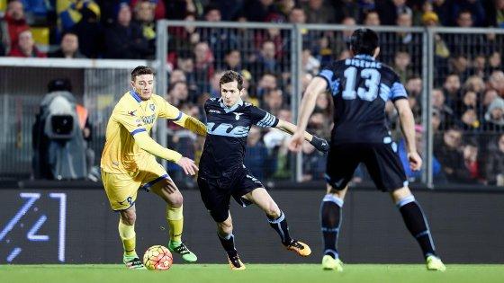 Frosinone-Lazio 0-0, due fiammate non scaldano il Matusa