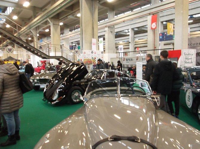La Scuderia Jaguar Storiche al salone delle classiche di Torino
