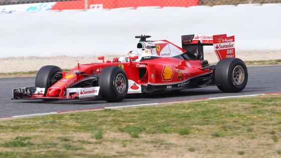 Formula uno, primi test: Vettel è già il più veloce