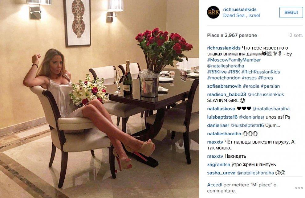 Russia, i nuovi ricchi su Instagram: i figli degli oligarchi tra eccessi e lusso