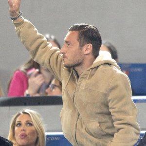 """Roma, Totti: """"Ilary è la mia fortuna, mi fa stare tranquillo"""""""