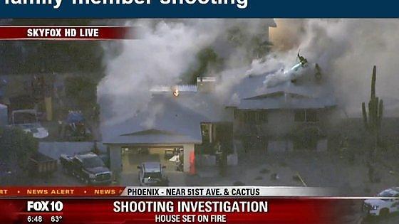 Usa, spari in una casa a Phoenix: 5 morti, di cui una bimba di 12 anni. Ucciso il killer