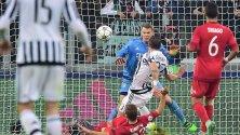 Rimonta Juve   foto    2-2 con il Bayern Monaco