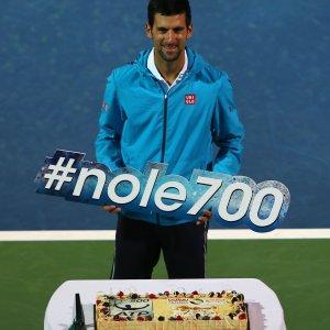 Tennis: Djokovic, vittoria n.700. Campione di talento e serenità