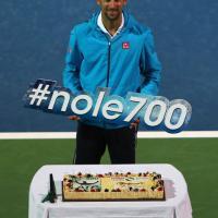 Tennis, festa Djokovic: 700 vittorie in carriera