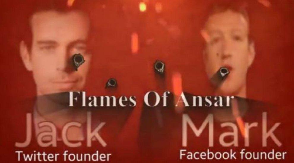 Is, minacce ai fondatori di Twitter e Facebook