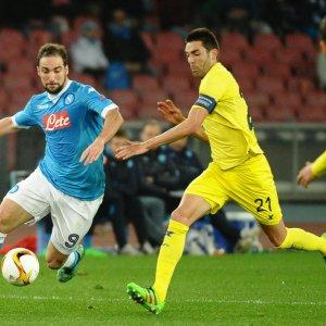 Napoli-Villarreal 1-1: Hamsik illude il San Paolo, Pina qualifica gli spagnoli