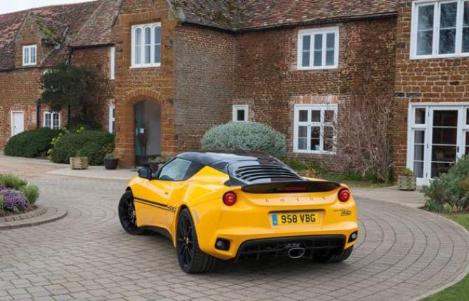 Lotus Evora Sport 410, ancora più leggera