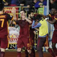 Serie A: la Roma vince a Empoli, il Milan piega il Toro