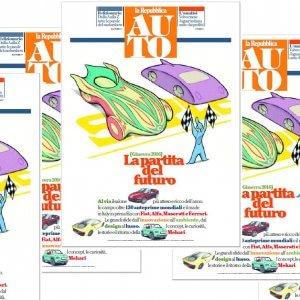Domani con Repubblica il Supplemento Auto