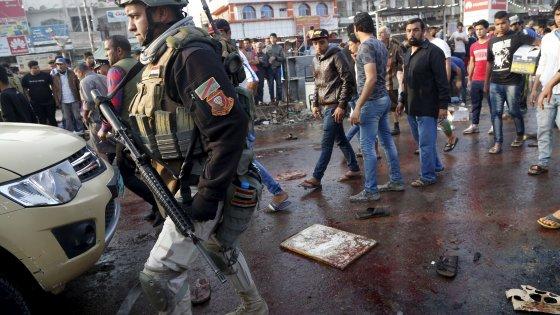 Iraq, doppio attacco a Bagdad: decine di morti. Is rivendica
