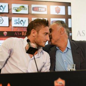 Roma, Pallotta: ''Amo Totti, resterà qui a lungo. Spalletti? Vorrei averlo preso prima''