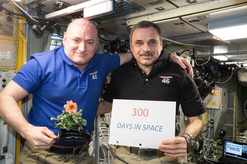 Un anno nello spazio, il ritorno di Kelly & Co - Fotoracconto