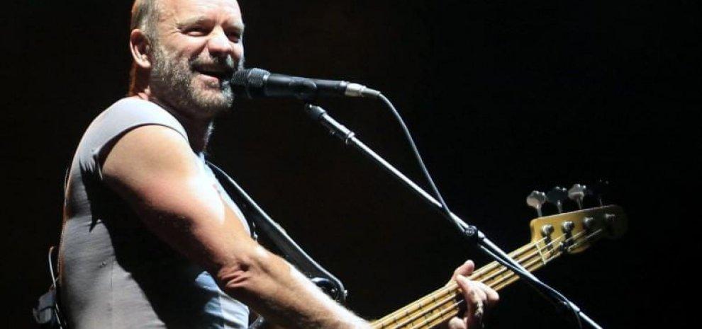 Sting, annunciate le date italiane: Roma, Firenze e Assago (Milano)