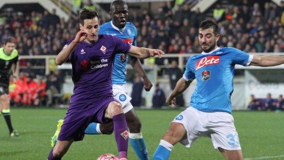 Fiorentina-Napoli 1-1: botta e risposta tra Alonso e Higuain, sorridono Juve e Roma