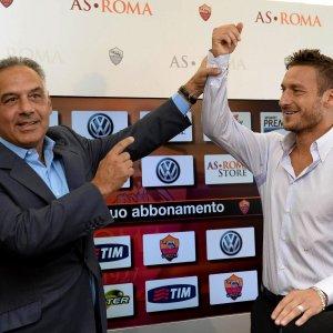 Roma, Pallotta torna a Trigoria. Ma slitta il confronto con Totti