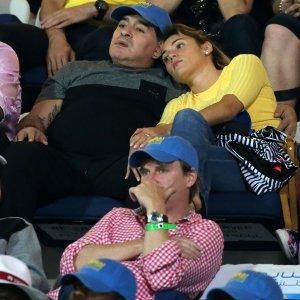 """Napoli, Maradona: """"Vorrei tornare per vincere"""". Attacco a Infantino: """"Un traditore"""""""