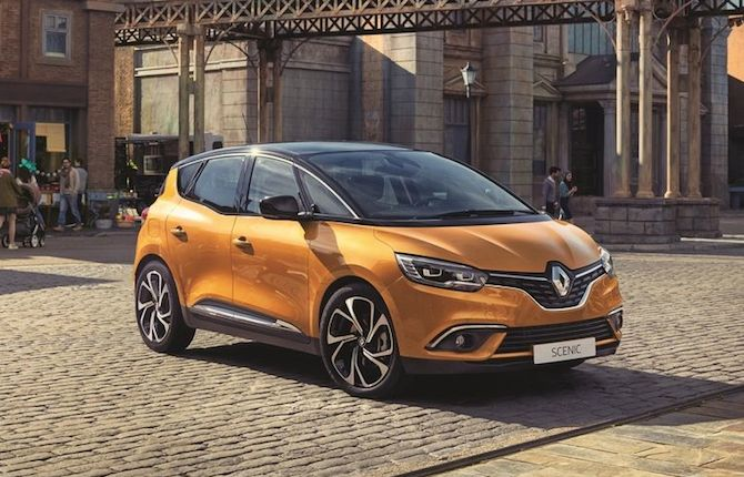 Renault: Nuova Scénic in anteprima mondiale a Ginevra 2016