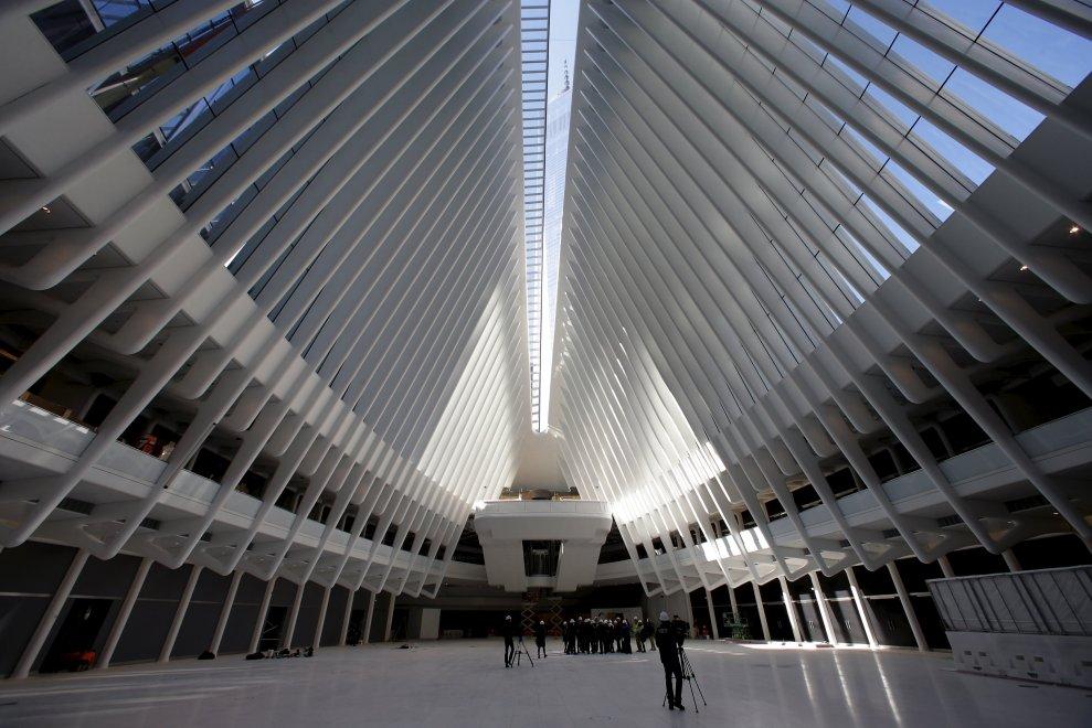 New York, pronta la nuova stazione metro del World Trade Center