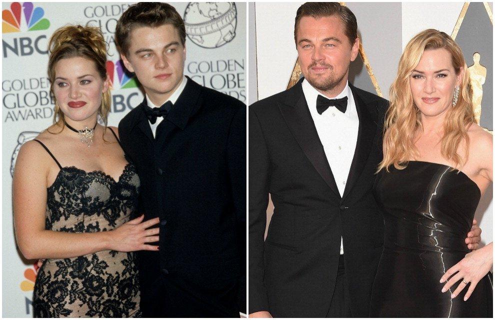 DiCaprio-Winslet, com'è cambiata la coppia da Oscar: dal Titanic a oggi