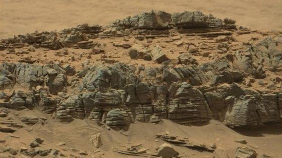 Su Marte le eruzioni vulcaniche furono così potenti da spostare l'asse di rotazione