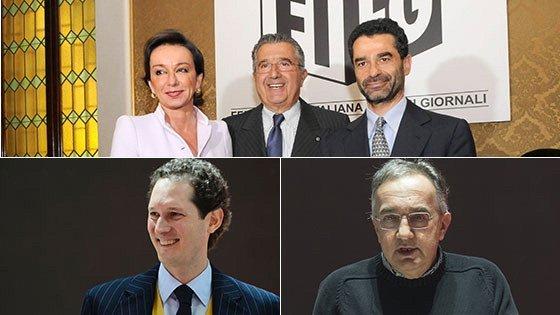 Nasce il polo Repubblica-Stampa. Fca esce da Rcs