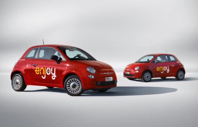 Il Car sharing Enjoy cambia rotta