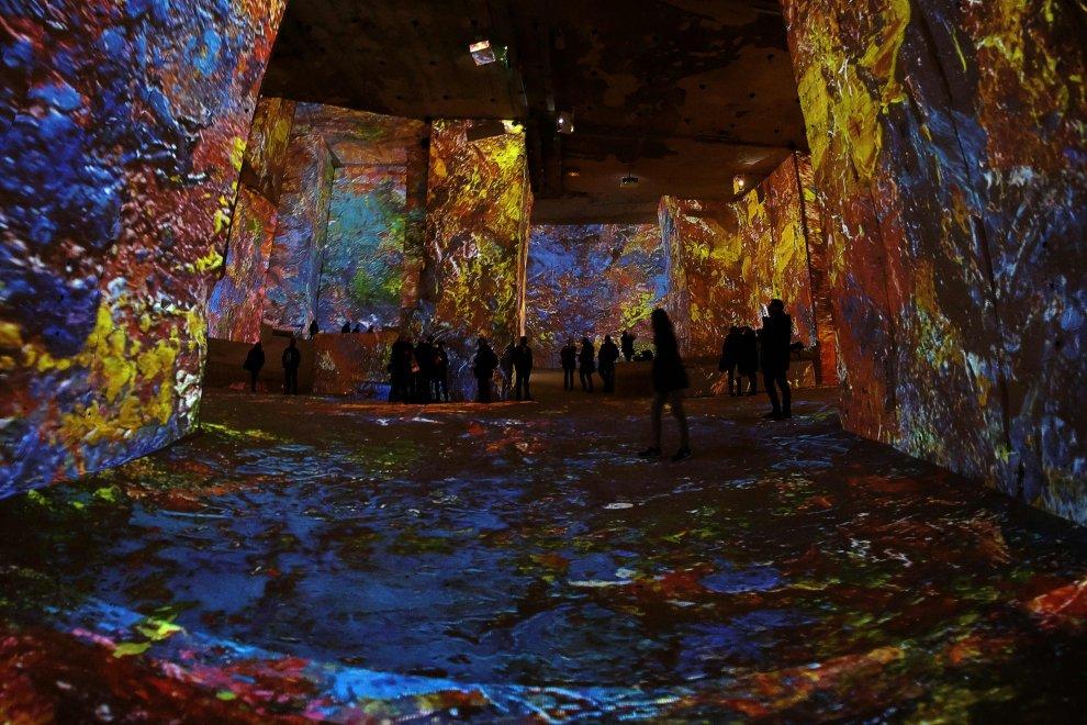 Chagall virtuale. L'installazione show in Provenza
