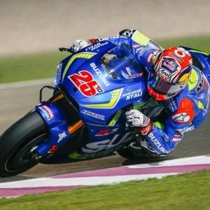 MotoGp, test Qatar: Vinales il più veloce, solo ottavo Rossi