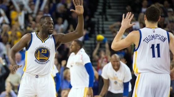 Basket, Nba: Golden State oltre ogni record, 44/a di fila in casa