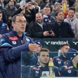 """Napoli, Sarri: """"Scudetto? I sogni ogni tanto si avverano''"""