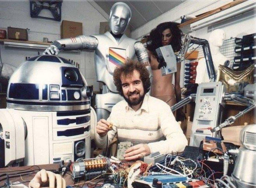 Star Wars,  addio Tony Dyson: aveva creato R2D2