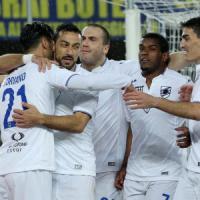 Verona-Sampdoria 0-3: blucerchiati quasi al sicuro, gialloblù verso la B
