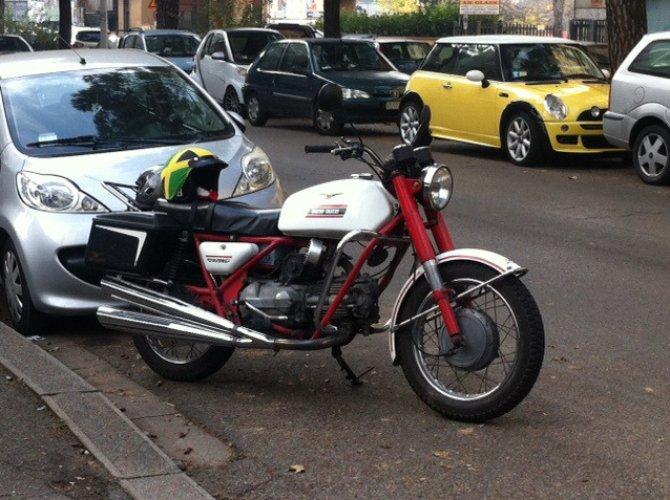 Lettera d'amore per una Moto Guzzi Falcone
