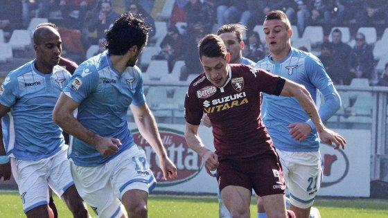 Torino-Lazio 1-1, Biglia replica a Belotti