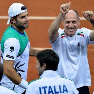Tennis, Davis: Italia-Svizzera finisce 5 a 0. Ai quarti c'è l'Argentina