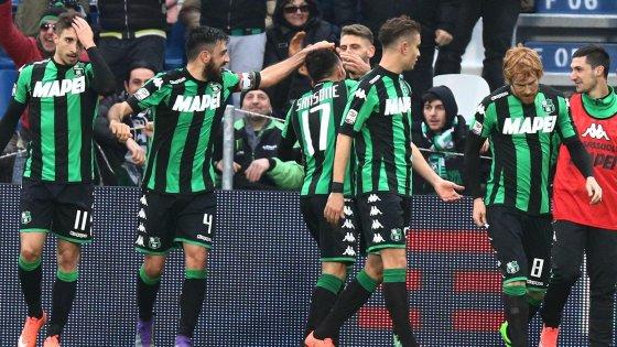 Sassuolo-Milan 2-0: si ferma la serie rossonera, i neroverdi tornano a sognare l'Europa