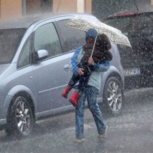Maltempo sull'Italia, pioggia e freddo fino a giovedì