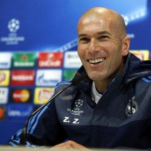 """Champions, Zidane: """"Guai fare calcoli, con la Roma il Real giocherà per vincere"""""""