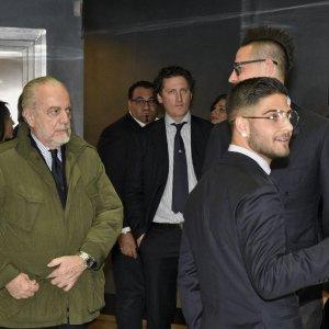 """Napoli, De Laurentiis: """"Scudetto""""? Non posso che crederci"""""""