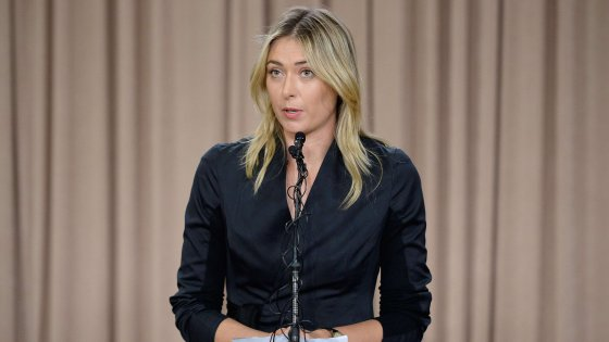 "Tennis, Sharapova shock: ""Positiva a un controllo antidoping"""
